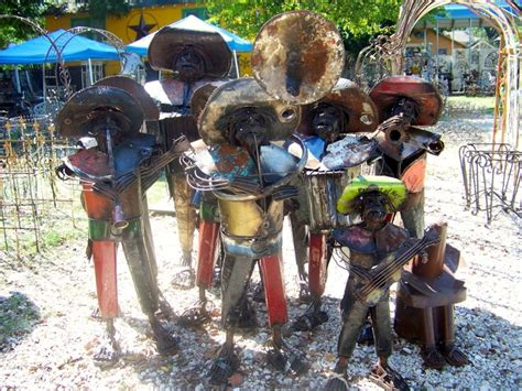 mexican metal garden recycled metal mariachis contact us in houston tx 713 880