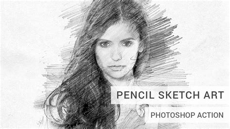 photoshop pattern pencil pencil sketch art photoshop action tutorial youtube