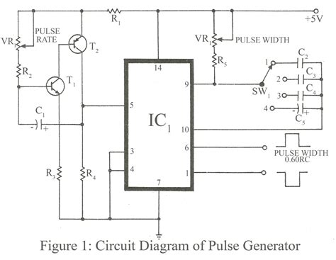 pulse generator circuit diagram pulse free engine image