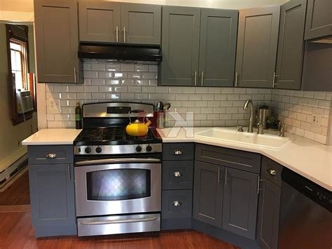 Grey Shaker Kitchen Cabinets by Shaker Gray Kitchen Bathroom Cabinet Gallery