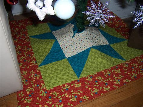 big star christmas tree skirt tutorial 171 cornbread beans