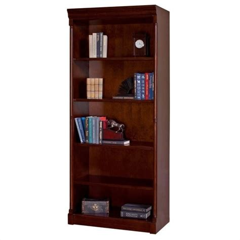 kathy ireland home by martin mount view open wood bookcase