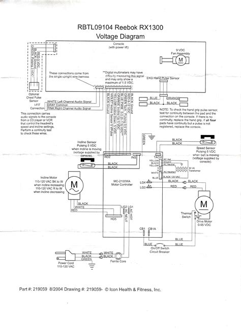treadmill motor wiring diagram 30 wiring diagram images