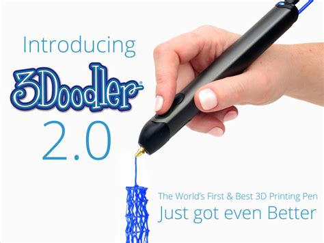 the doodler 3d pen new version of 3d doodler pen is here and its even better