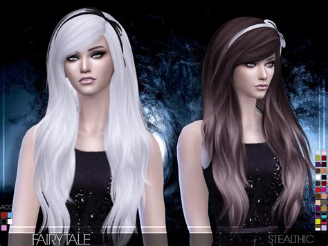 sims 3 custom content females hair bow stealthic fairytale female hair