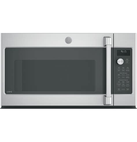 Ge Caf 233 Series 1 7 Cu Ft Convection The Range Microwave Oven Cvm9179slss Ge Appliances