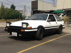 1986 Toyota Corolla Hatchback For Sale Sell Used 1986 Toyota Corolla Ae86 Hatchback Trueno 20