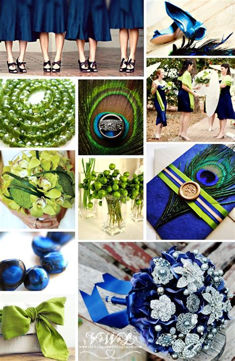 peacock wedding vintage inspiration navy and lime peacock wedding inspiration on vintage