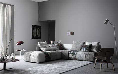 le skandinavisches design canap 233 gris 50 designs en nuances grises pour votre salon