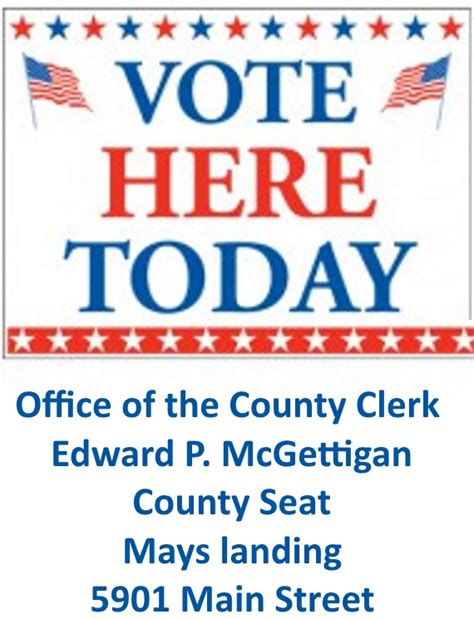 Atlantic County Clerk Records Vote Today The Official Atlantic County Clerk