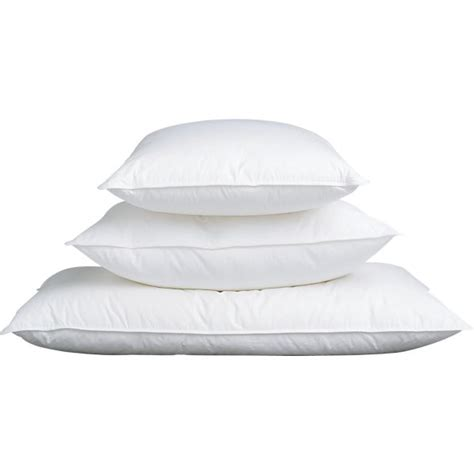 down bed pillow feather down bed pillows crate and barrel