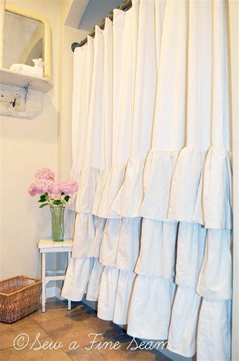 white cotton ruffle shower curtain white cotton shower curtain ruffle curtain menzilperde net