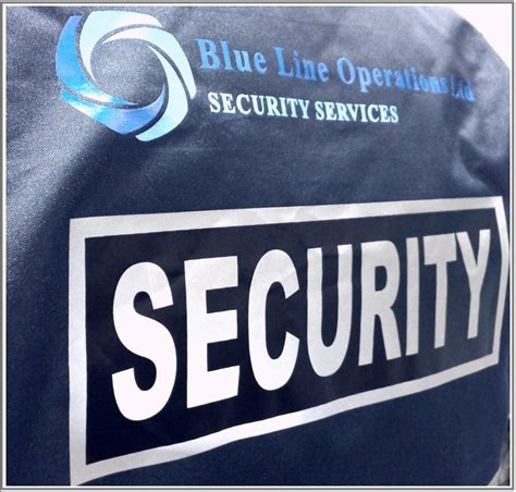 blue line operations ltd essex security service blue