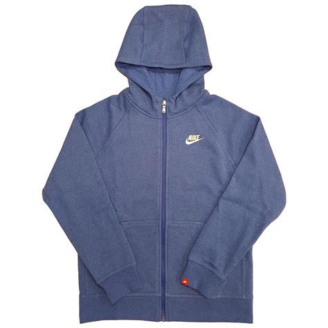Brushed Fleece Hoodie nike boys ya76 franchise brushed fleece hoodie blue