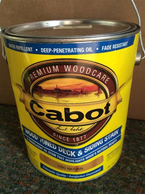 cabot deck  siding stain stain paint  sealer  bid