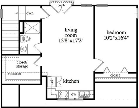 garage floor plans with apartment 24x40 floor plan studio design gallery best design