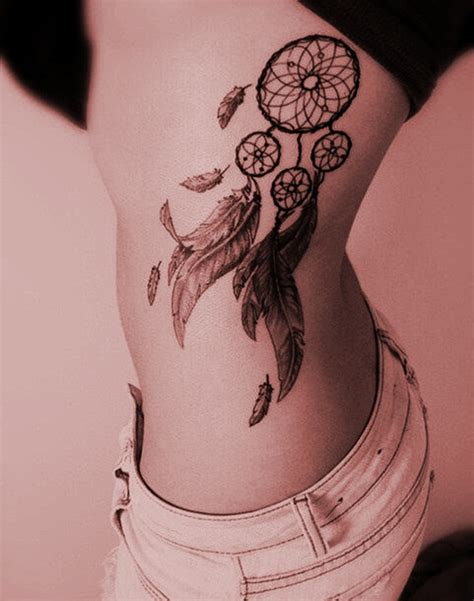 best 55 dreamcatcher tattoo designs for girls