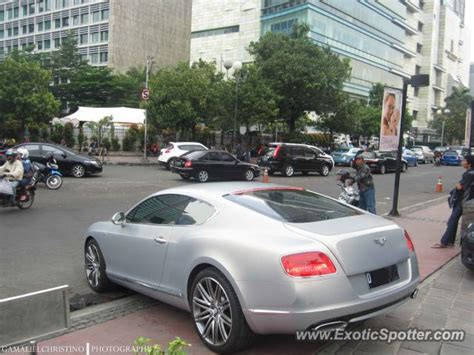 Bentley Continental Spotted In Jakarta Indonesia On 05 19