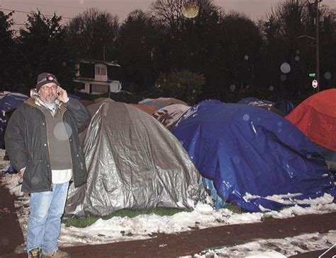 The Tents Are Here To Stay 3 by Tent City 3 Prepares To End Three Month Stay At Renton