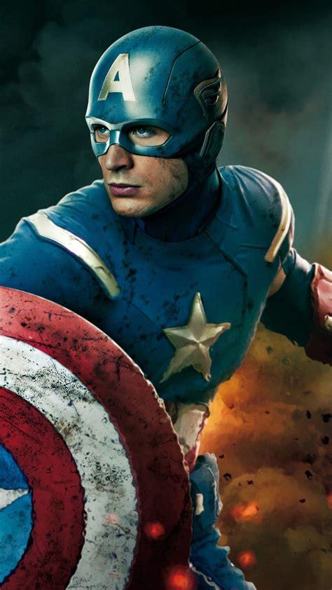 captain americthe avengers  mobile wallpaper