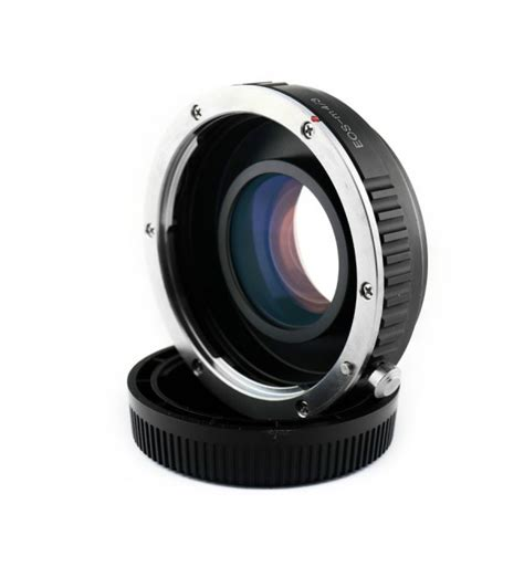 Cap Olympus M43 Mount Kode Vc13035 2 focal reducer speed booster adapter canon eos ef lens to