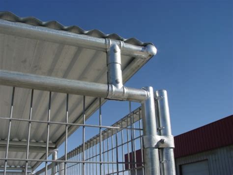 kennel roof 6 quot lift kit for kennel roof shelter