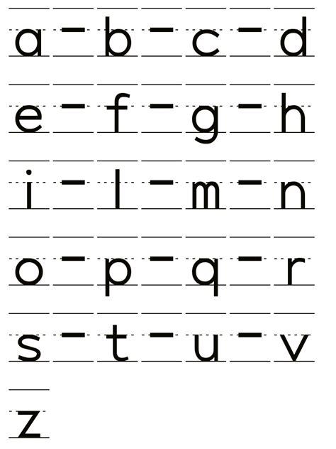 lettere minuscole in corsivo pregrafismo alfabeto corsivo minuscolo