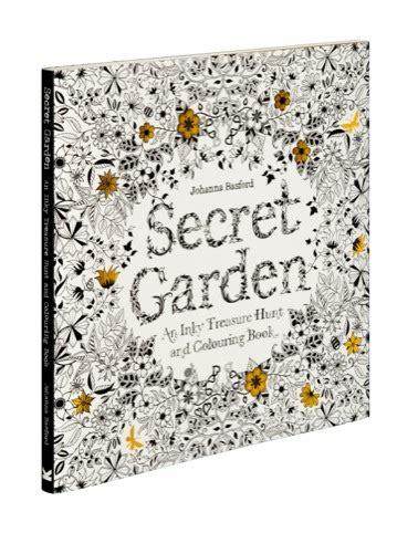 secret garden colouring book angus and robertson johanna basford s secret garden design week