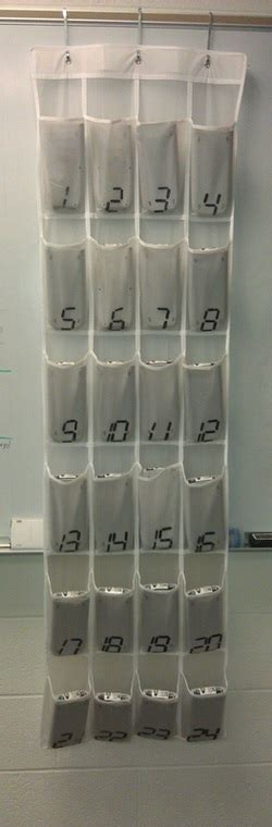 picture hanging calculator made4math week 4 shoe rack turned calculator storage