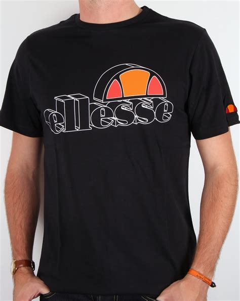 Tshirt Ellesse New One Tshirt ellesse bandini logo t shirt black crew neck mens carrier