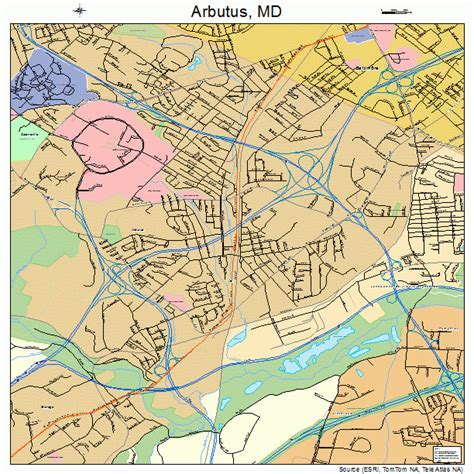 maryland mapquest arbutus maryland map 2401975