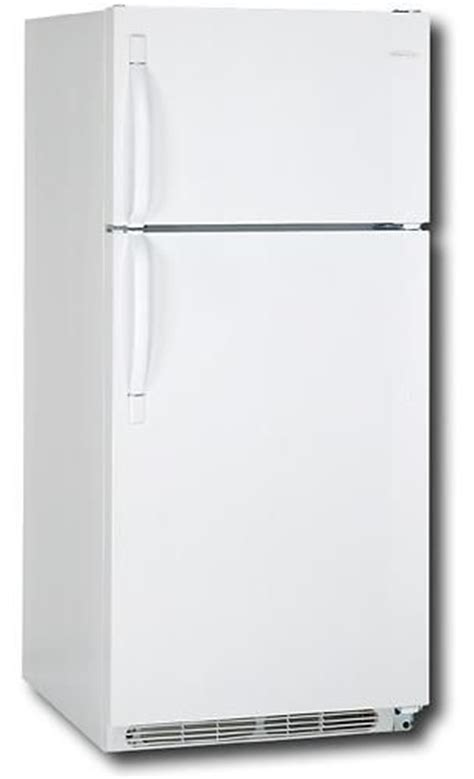 Door Refrigerator White by Frigidaire Frt18b5jw Top Mount Refrigerator White 18 Cu
