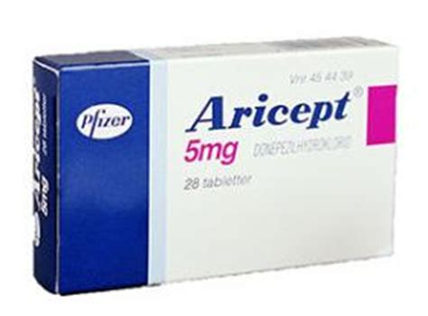 Aricept 5mg Eisai aricept