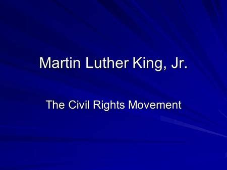 chion martin luther king jr civil rights movement malcolm x and martin luther king jr ppt download