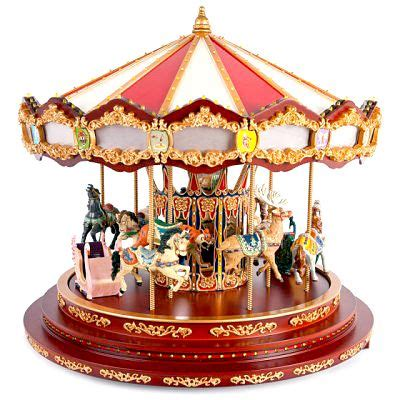 delicate merry go round music box gift ideas to women