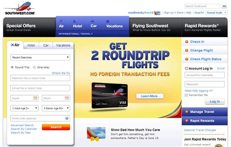 southwest  classic budget airline