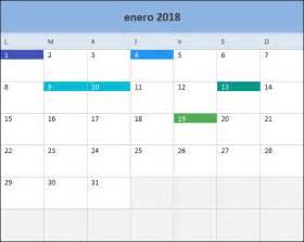 Calendario 2018 Mexico Para Imprimir Calendario 2018 En Excel Listo Para Imprimir Excel Total