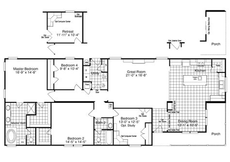 island palm communities floor plans palm harbor s the yukon kht368a2 or 30683y is a