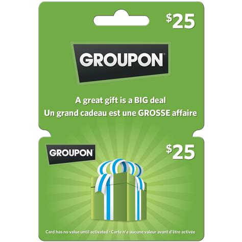 Wish Gift Card Groupon - groupon 25 gift card entertainment dining gifts food shop the exchange