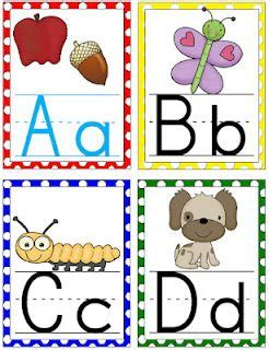 free printable alphabet wall letters large polka dot alphabet cards for your classroom free