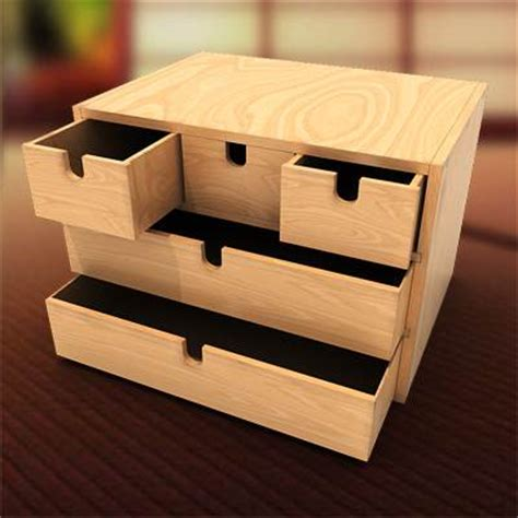 17 best images about ikea mini drawer chest hacks fira 3d model mini chest with 5 drawers 19 95 buy download