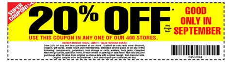 harbor freight coupons 20 off printable harbor freight coupon 20 off coupon code printable coupons