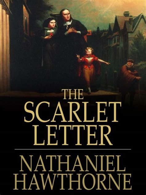 biography of nathaniel hawthorne the scarlet letter the scarlet letter by nathaniel hawthorne waterstones com