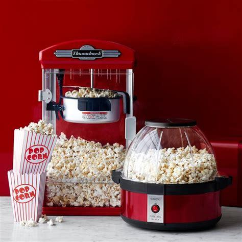 Komik Pop Corn Deluxe No 5 throwback theater popcorn maker williams sonoma