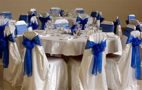 Blue And White Wedding Decorations by Wedding Reception Decorations Pictures And Ideas