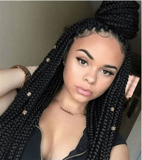 Different Hairstyles For Box Braids by 152 Best Images About Braids For Black On