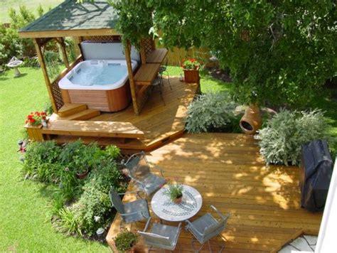 outdoor hot tub enclosure ideas with deck home interior exterior