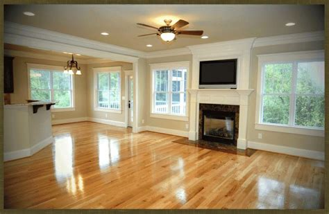 wall color with oak floor fresh rustic craftsman home