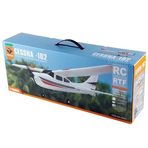 Rc Plane Cessna182 Wltoys F949 wltoys f949 cessna 182 2 4g 3 channel rc aircraft fixed wing rtf airplane rcfair