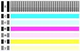 pattern test printer streaks or lines are printed or printing is uneven